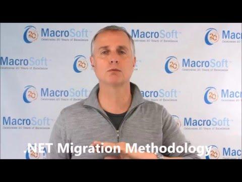 .NET Migration Methodology