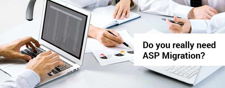 Do you really need ASP Migration?