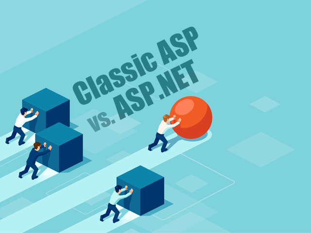 Classic ASP VS ASP.NET